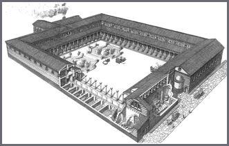 Гостиницы Испании Римский постоялый двор