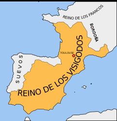 Государство вестготов Барселона