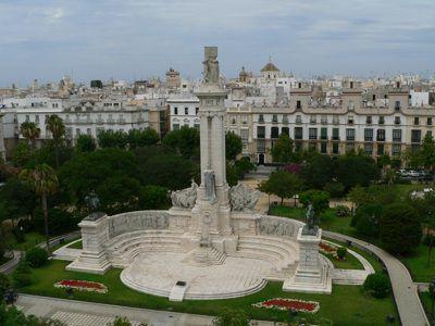 Кадис площадь Испании экскурсия в Кадис