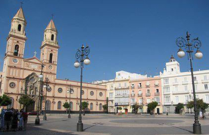 Кадис площадь Святого Антонио