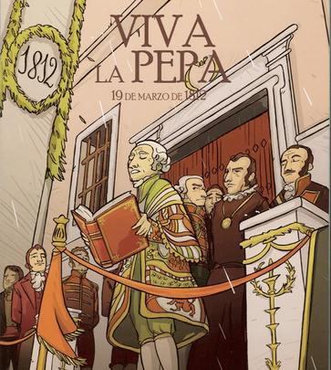 Кадис Вива ла Пепа 19 марта 1812 год