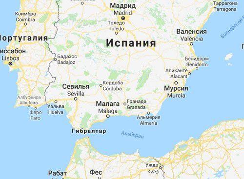 Кордоба карта Кордовы