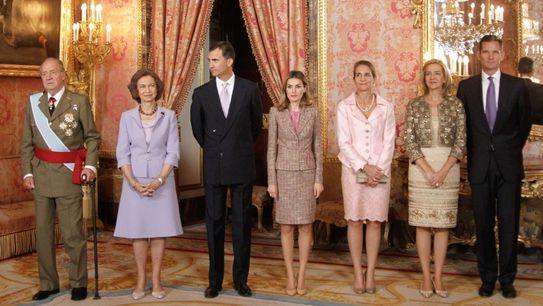 Королевская семья Мадрид Испания