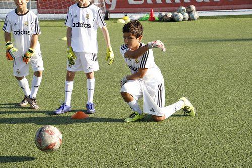 Детский футбольный лагерь Реал Мадрид Испания