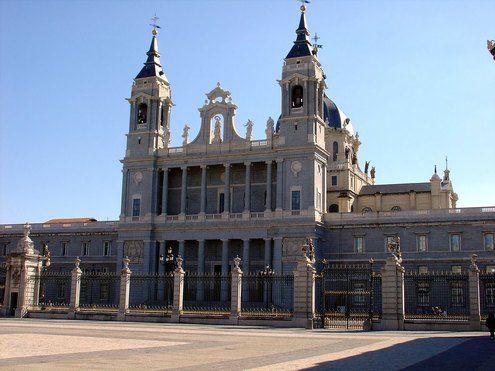 Кафедральный собор Альмудена Мадрид Испания