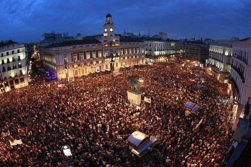 Площадь Ворота Солнца Мадрид