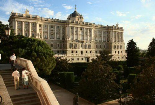Мадрид сады Сабатини