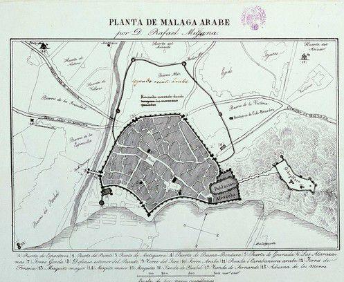 Малага арабское правление