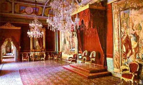 Тронный зал Королевский дворец Мадрида