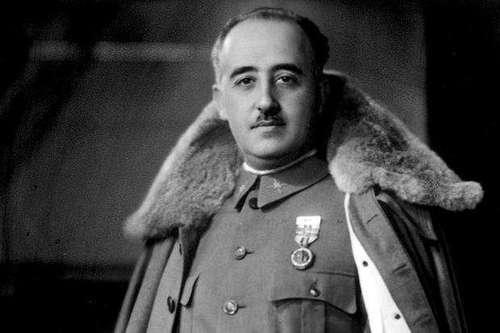Испанский мятеж 1936 Франциско Франко