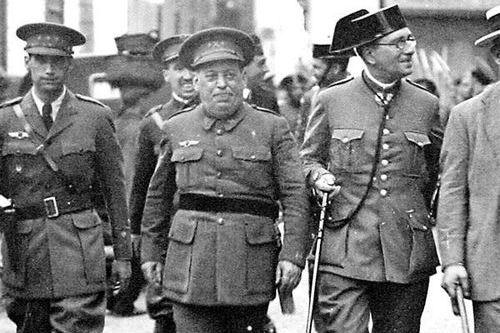 Испанский мятеж 1936 года