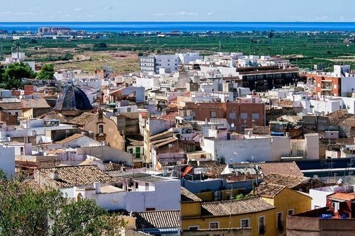 Коста де Валенсия курортное побережье Испании
