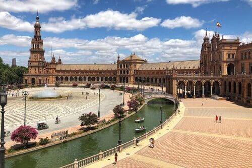 Групповая экскурсия в Севилью из Бенальмадены