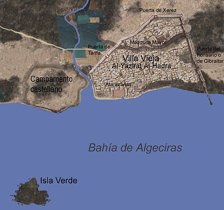 Альхесирас история Старый город