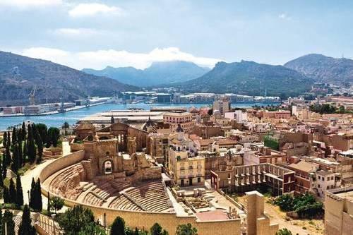 Коста Калида курортное побережье Испании
