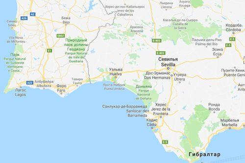 Коста де ла Лус курортное побережье Испании