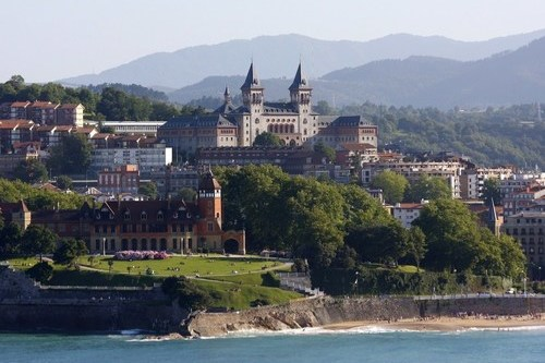 Коста Баска курортное побережье Испании