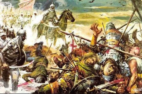 Арабское вторжение и мавританский период истории Фрихилианы