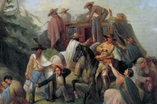 Фрихилиана бандиты XIX века