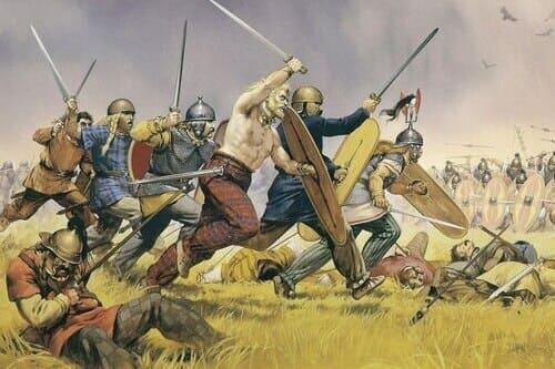 Фрихилиана история вестготы и византийцы