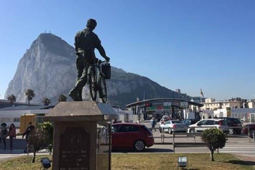 Гибралтар граница