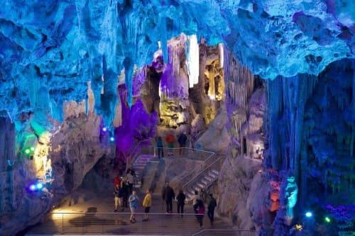 Гибралтар пещера Сан Мигель