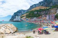Гибралтар пляж