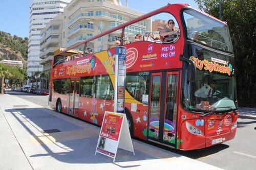 Туристический автобус Малага