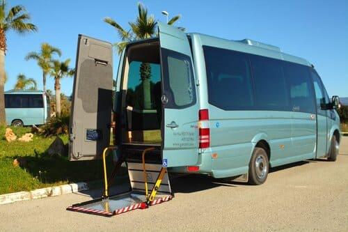 VIP трансфер на автобусе по Коста дель Соль Малага Испания