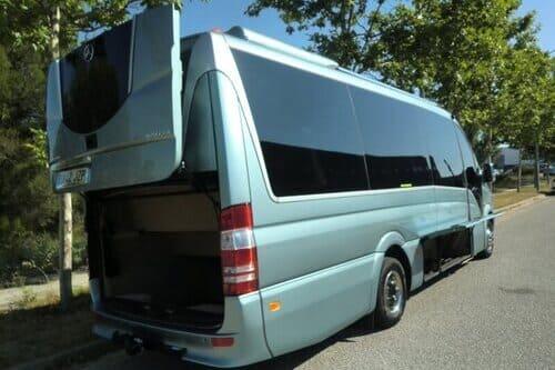 VIP трансферы аэропорт Малага Марбелья на автобусе Коста дель Соль Малага Испания