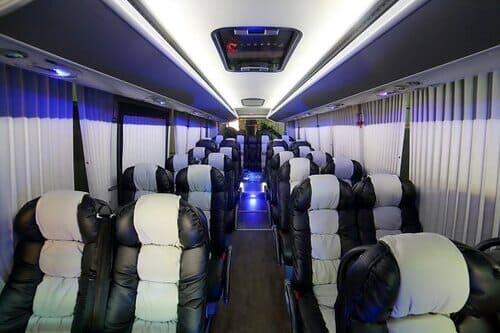 VIP трансферы аэропорт Малага Марбелья на автобусе Испания